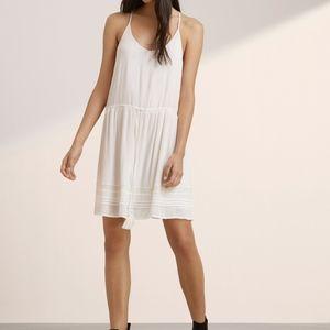 Aritzia Talula Wallaston Dress in white